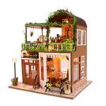 [adico]DIY 미니어처 풀하우스 - 레인보우 카페