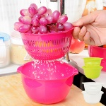 야채 과일세척 믹싱볼 채반세트(S) [6270]