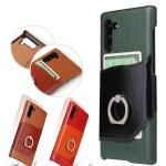 갤럭시노트9 노트9 가죽 카드 핑거링 핸드폰 케이스