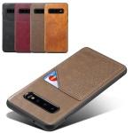 갤럭시노트9 슬림 가죽 카드 포켓 범퍼 핸드폰 케이스