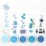 [아리부바] 클레이 그라데이션 : 파랑계열 Set