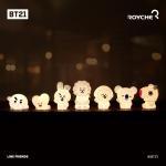 [로이체] BT21 캐릭터 실리콘 무드등