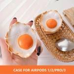 에어팟 PRO/2/1 계란후라이 젤리 케이스/철가루스티커