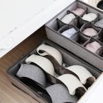 [2+2] 패브릭 속옷정리함 - 4칸