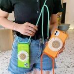 아이폰11 PRO XR SE2 형광컬러 데코 목걸이줄 케이스