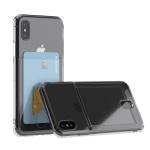 아이폰 x,xs 아이스핏 에드온 TPU 투명 카드 케이스