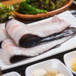 대천 앞바다 싱싱 자연산 손질된 왕장어 1kg이상/1미