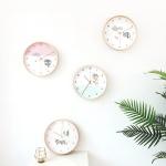 청현재이 좋은말씀 자작나무 원형시계 (벽걸이) (4종)