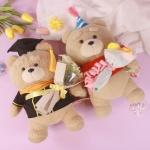 테드 곰 인형 꽃다발 2종 19곰테드 졸업식 생일 선물