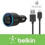 [belkin]벨킨 2-PORT CAR CHARGER+8PIN차량용 충전기