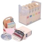 [Nakabayashi] 잡다한 물건을 한곳에 수납하자~.나카바야시 5분류 칸칸 다용도 정리함-나게코미 박스 F8