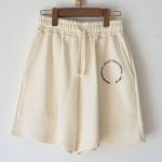 Sweat shorts emblem (ivory)