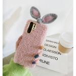 갤럭시노트10+ 9 8 s10 5g 토끼 리본 니트 젤리케이스
