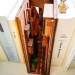 미니어처 입체 모형 DIY 책장 속 작은 공간 만들기 A