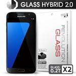 [프로텍트엠] 레볼루션글라스 하이브리드2.0 강화유리 방탄액정보호필름 갤럭시S7/GALAXY S7/G930