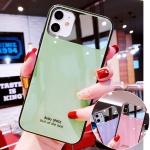 아이폰11pro max/프로 se2 강화유리 컬러 미러케이스