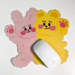 [뽐뽐스튜디오] 토비&써니베어 마우스 매트
