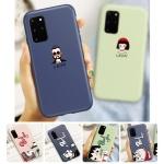 갤럭시노트10 plus 커플 캐릭터 실리콘 핸드폰 케이스
