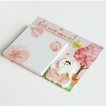 [예약판매 3월27일 출고] 복사꽃 마그넷 메모지 세트