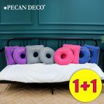 피칸데코 기능성 도넛방석 1+1 택2 원형 사각형