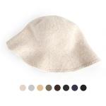 [디꾸보]패션 벙거지 뒷끈 묶음 여성모자 AC691