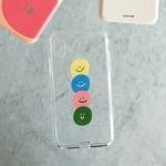 BFMA 젤리 폰케이스-스마일리 (아이폰갤럭시LG)