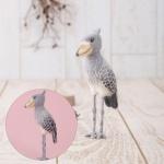 하마나카 넓적부리황새 키트 양모펠트