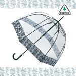 펄튼 투명 돔 장우산 버드케이지-2 Luxe 포토 로즈