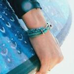 [LATIN] BLUE FOOT(블루풋) 매듭팔찌