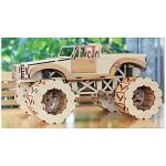 DIY나무모형 몬스터 트럭