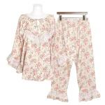 [쿠비카]넥라인 미니 레이스 투피스 여성잠옷 W687
