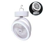 캠핑 타프 + LED 무선 선풍기