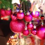 크리스마스 장식볼 오너먼트 3cm 20입 (푸치샤)
