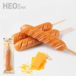 [허닭] [BEST] 닭가슴살 소시지 후랑크 치즈 70g