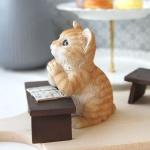 [HEIM] 독서하는 고양이 장식인형