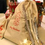 크리스마스 패브릭 선물자루 (대형 / 트리)