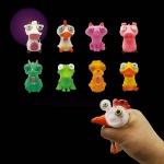 재미있는 눈알 튀어나오는 동물 말랑이 스퀴시 장난감