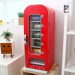자판기 형태의 미니캔 냉장고