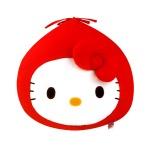 헬로키티 빨간망토 얼굴쿠션