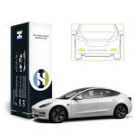 테슬라 모델 3 자동차용품 PPF 필름 안개등 세트