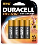 듀라셀 알카 전지 AA(4알)