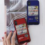 아이폰7플러스 자판기 카드케이스