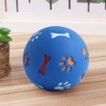 쥬쥬 강아지 간식 장난감공(11cm) (블루)