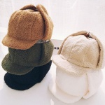 [갓샵 양털뽀글이 귀마개모자 5color] 트루퍼햇 귀달이 겨울 군밤장수모자 귀덮개겸용