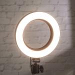 플라이토 LED 방송 촬영 조명 링라이트 삼각대(소)