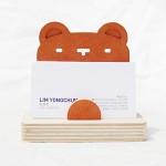 Business Card Holder-Bear 곰모양 명함꽂이