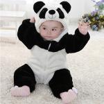 포근 따뜻한 팬더곰 우주복(6-24개월) 203734