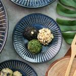 일본식기 다카네 접시 12cm