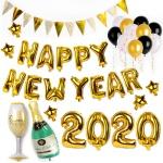 [인디고샵]  2020 해피뉴이어 풍선 파티세트