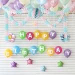 홈파티 생일 풍선세트-05 (헬륨가스포함)
